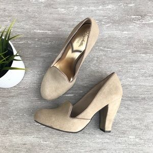 Seychelles Loafers Heels Shoes Leather